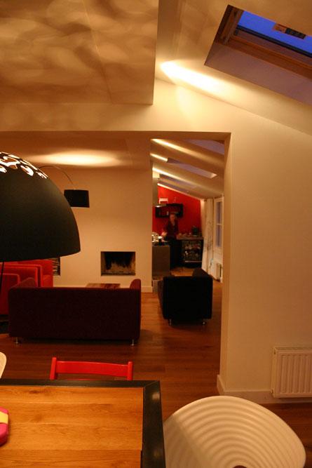 Interieur woning Diepenveen - Woonkamer