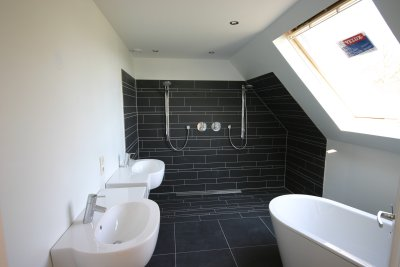 Interieur woonhuis Molenweg - Badkamer