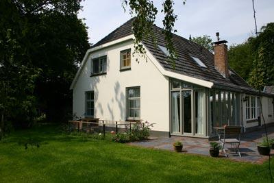 Diepenveen - Uitbreiding woning Molenweg- Nieuwe zuidgevel