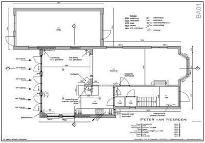 Diepenveen - Uitbreiding woning - Nieuwe plattegrond