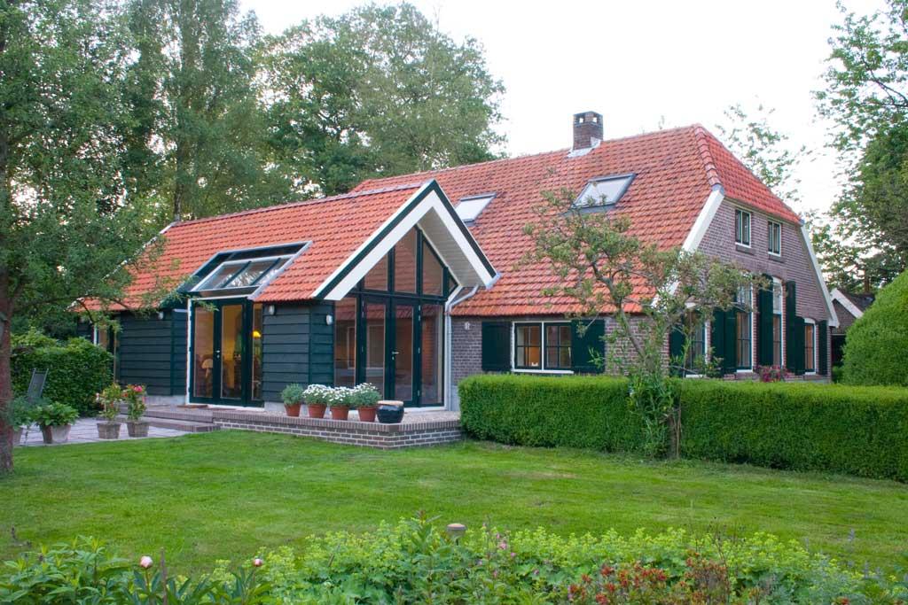 Peter van woerden architect uitbreiding van een woonboerderij - Uitbreiding van de zolder ...