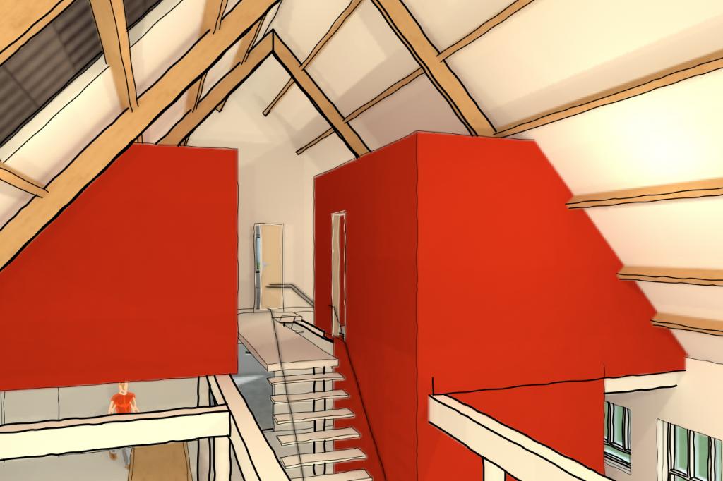Boerderij nieuw interieur
