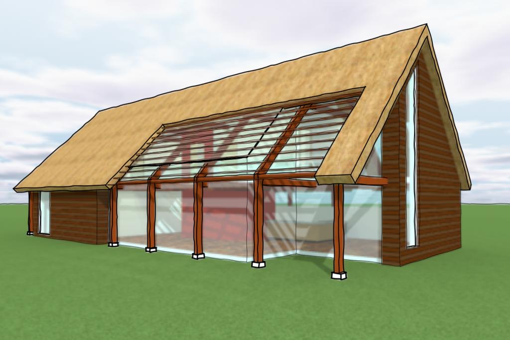 Herbestemming boerderij bouw 2 woningen - Architectuur en constructie ...