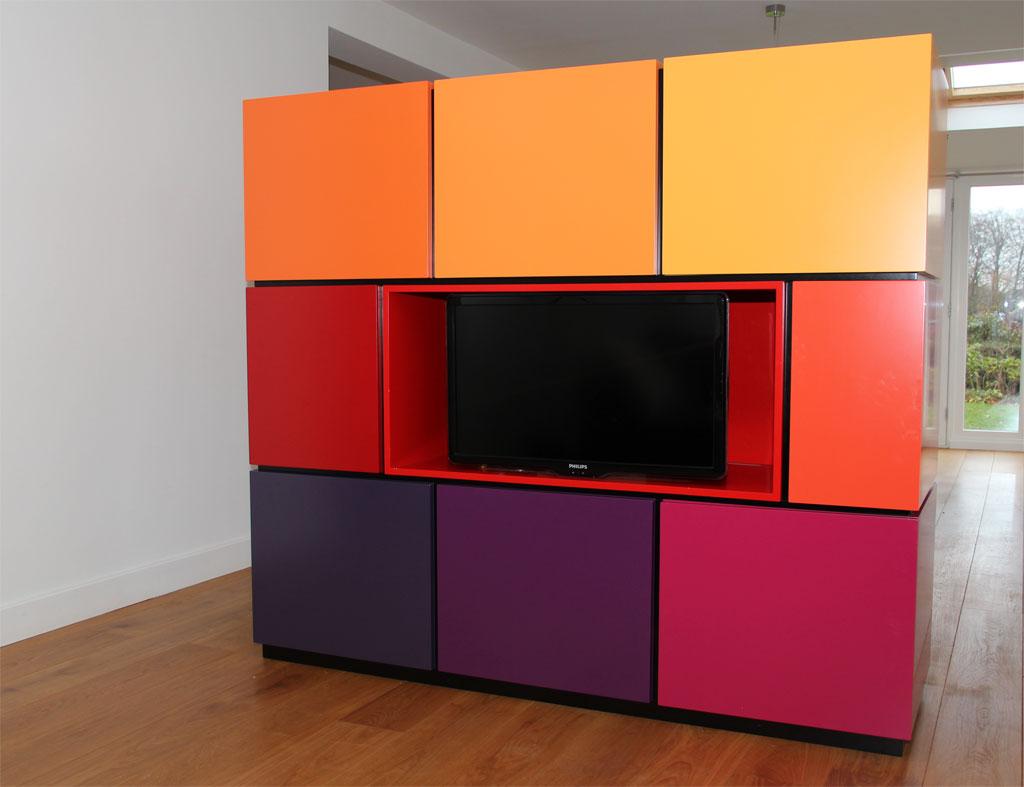 Room Divider Kast : Peter van woerden architect interieur room divider