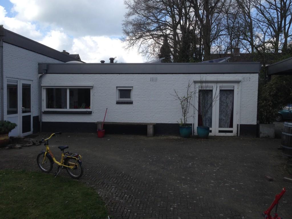 Uitbreiding woning Diepenveen - Bestaande achtergevel