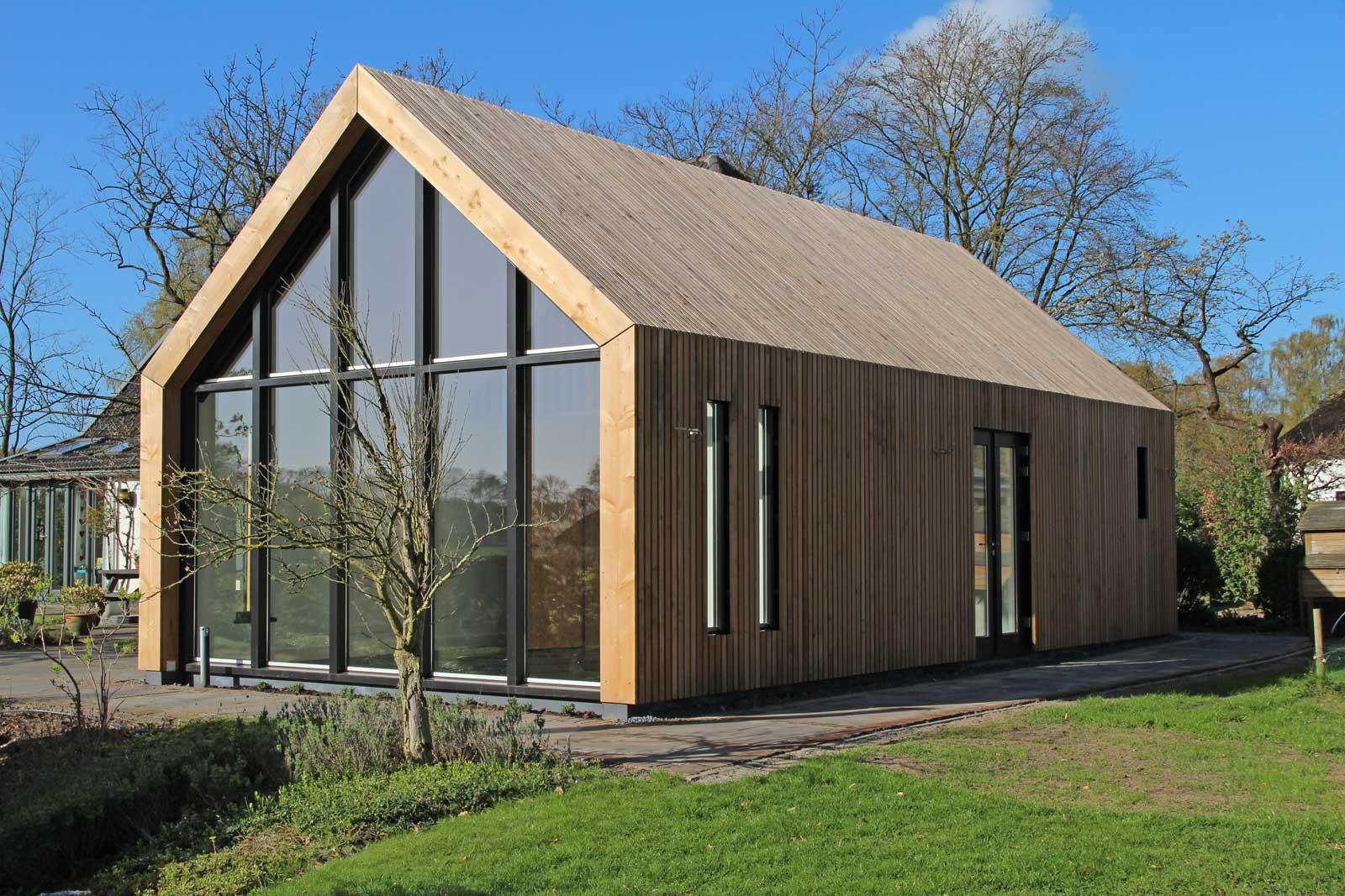 Peter van Woerden, architect - Schuur met atelier - Beeld achterzijde ...