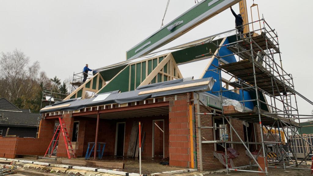 Nieuwbouw woning Gorssel - Bouw