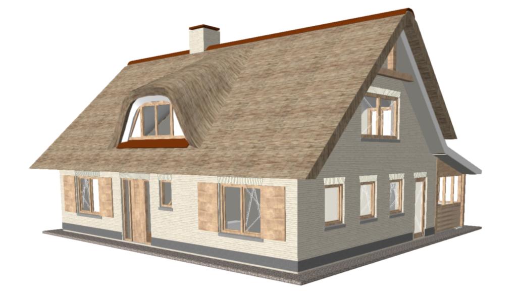 Nieuwbouw woning Gorssel - Perspectief