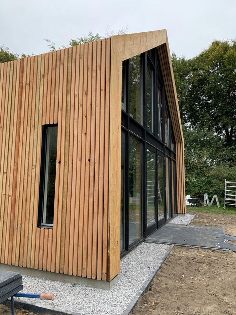 verbouw en uitbreiding woning Diepenveen - Uitbreiding achterzijde